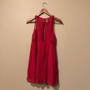 Fee People Red Dress